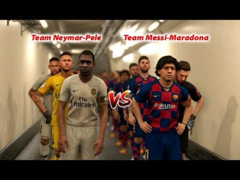 PES 2019 | Penalty Shootout | Team RONALDO-HAZARD vs Team MESSI