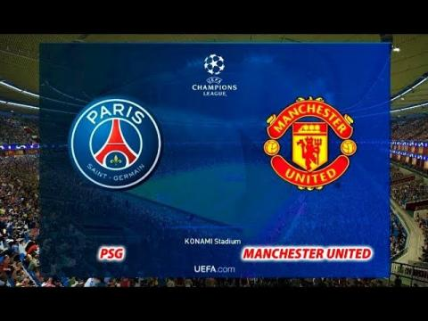 PSG vs Manchester United   UEFA Champions League 2019   PES 2019 Gameplay HD